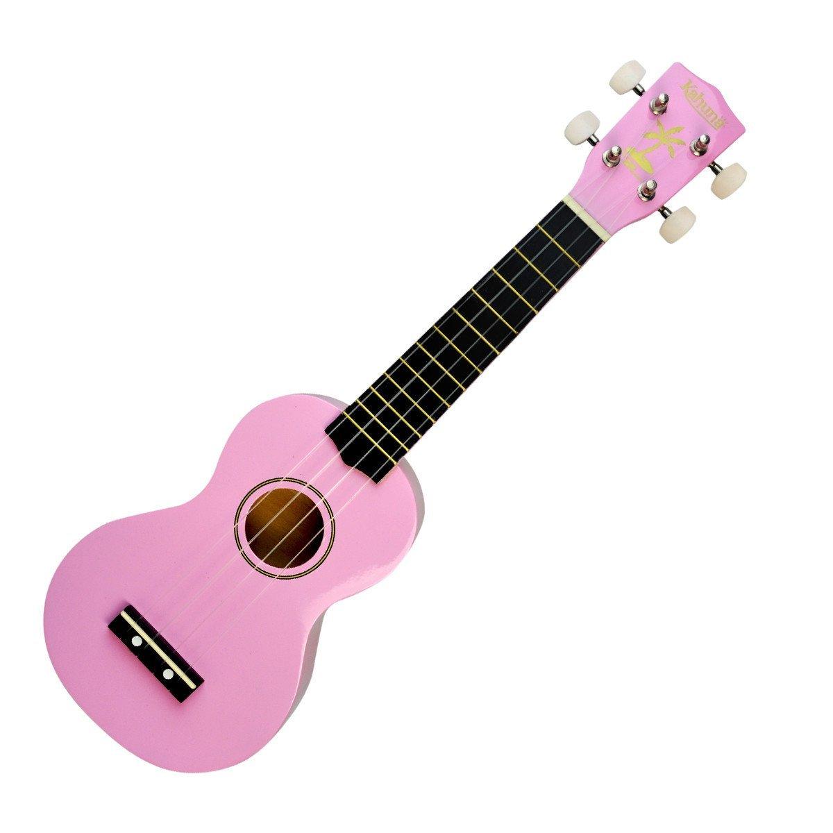 Kahuna Soprano Uke, Pink w/ Bag