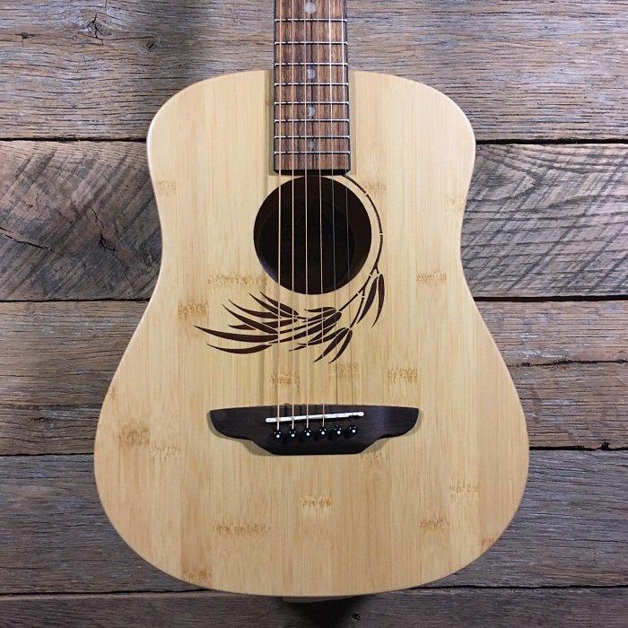eb0979aa4f Luna Safari Bamboo Travel Guitar w/Gigbag - 814064028265