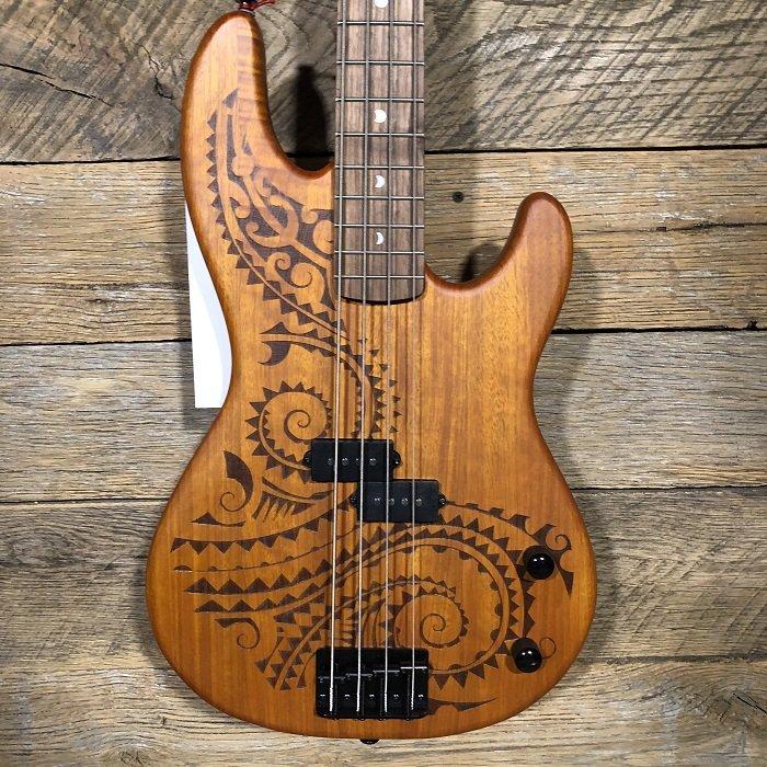 Luna Tattoo Electric Bass TAT 34