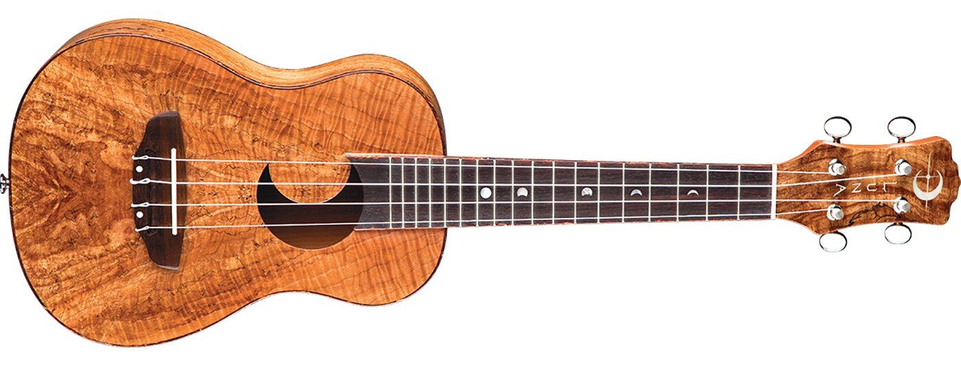 Luna Uke Spalt Maple Concert w/ Bag
