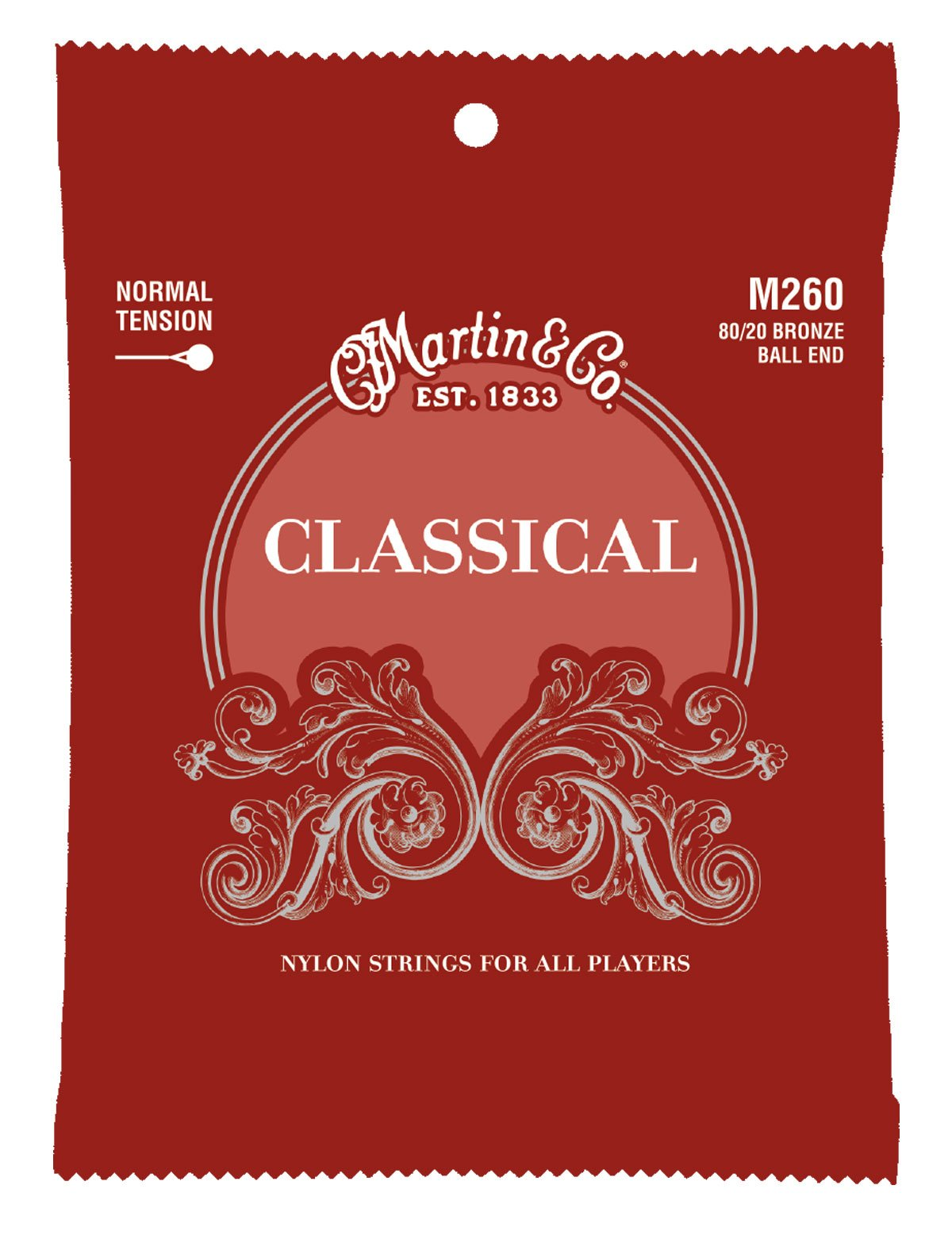 Martin M260 Classical Ball End Normal Tension