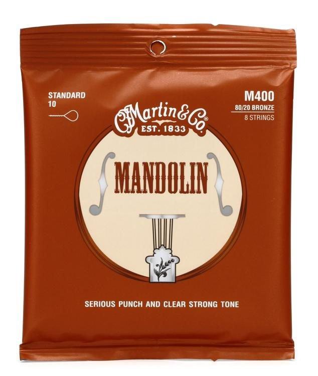 Martin M400 Mandolin 80/20 10-34