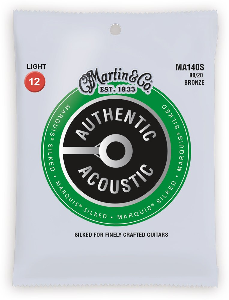 Martin MA140S 80/20 Authentic Marquis Silked Light 12-54