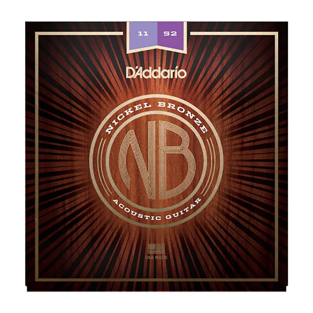 D'Addario NB1152 Acoustic Nickel Bronze 11/52