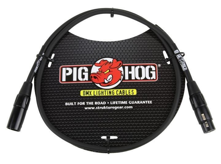 Pig Hog PHDMX3 DMX Cable