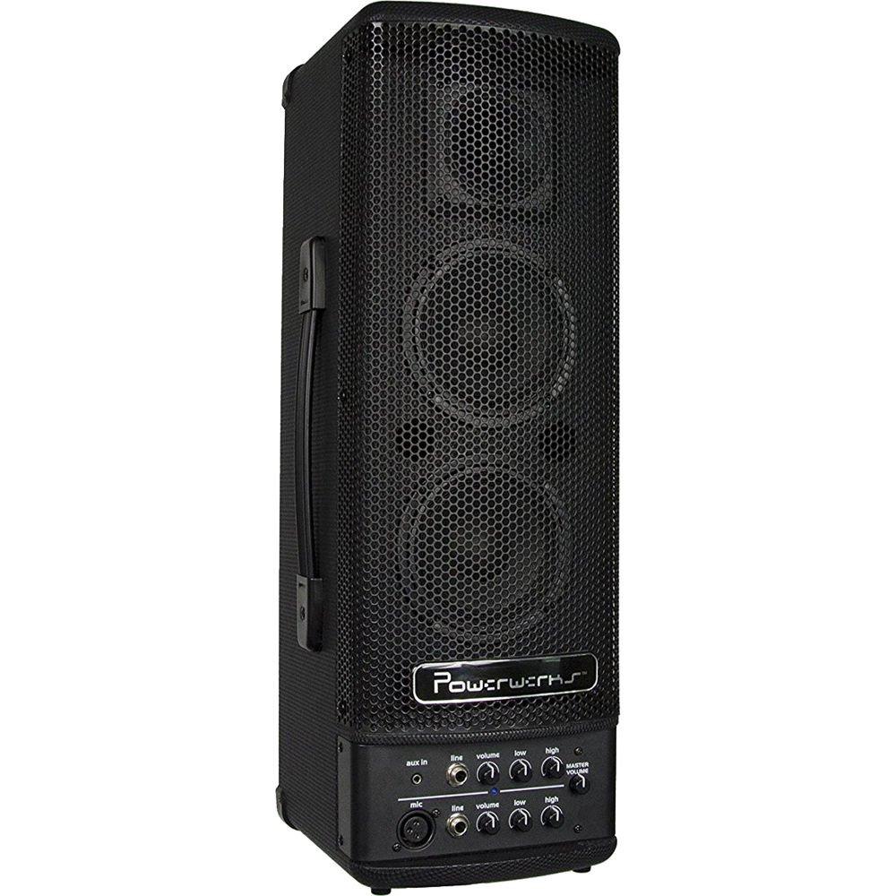 Powerwerks PW40BATBT Battery Powered Speaker