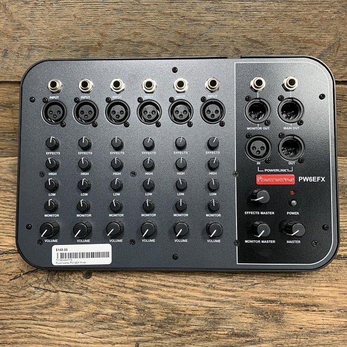 Powerwerks PW 6EFX Mixer
