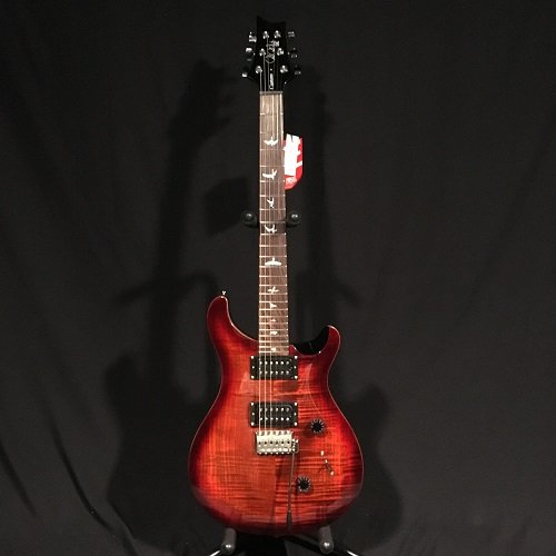PRS SE Custom 24 Fire Red Burst w/ gig Bag