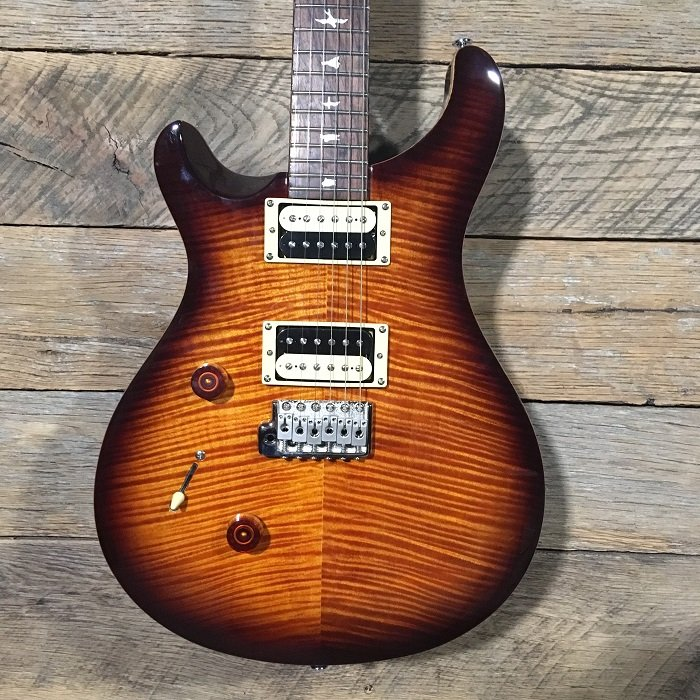 PRS SE Custom 24 Lefty Tobacco Sunburst