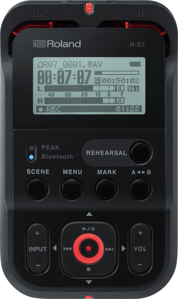 Roland R-07 Handheld recorder, Black