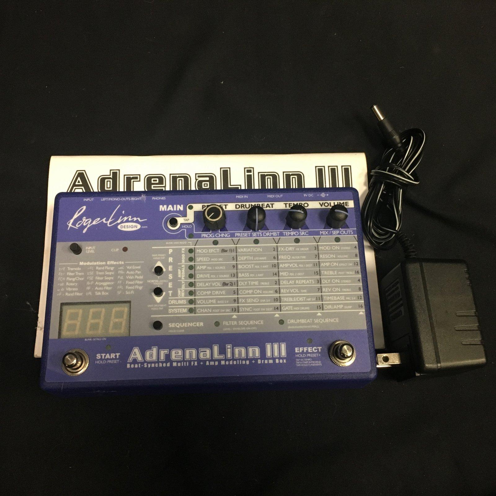 Used AdrenaLinn III