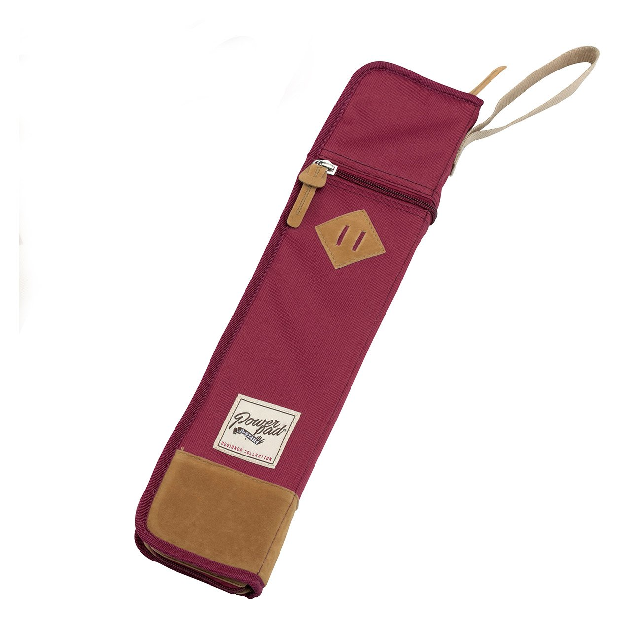 Tama TSB12WR Powerpad Drumstick Bag, Wine Red