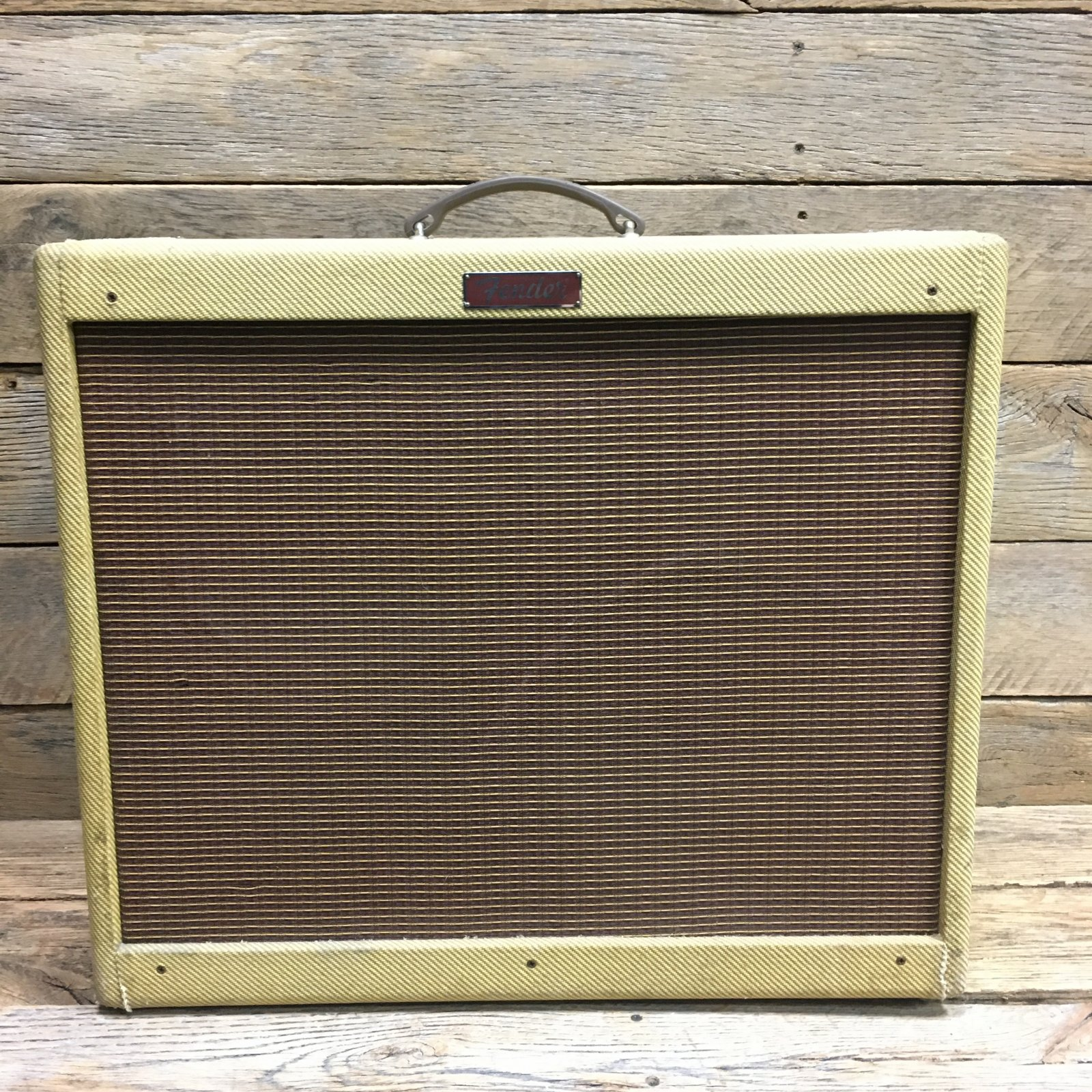Used Fender Blues Deville 2x12 w FTSW USA