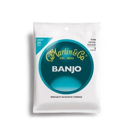 Martin V700 Light Nickel Banjo