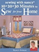 10 20 30 Minutes To Sew For Your Home