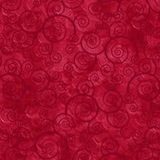 Harmony Red Swirls