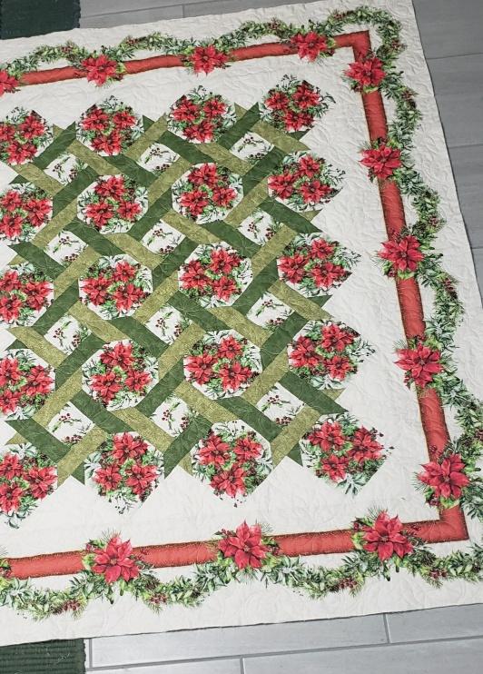 Winter Pointsettia Garden Twist Kit #110