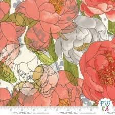 Blushing Peonies Cloud Floral