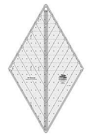 Creative Grids 60 Degree Diamond Ruler