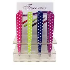 Tweezers in Counter Display