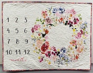 Baby Milestone Mats Floral Kit