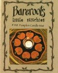 Little Stitchies - Pumpkins Candle Mat