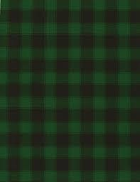 Buffalo Check Black Green