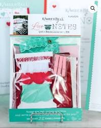 Love Notes Mystery Quilt Embellishment