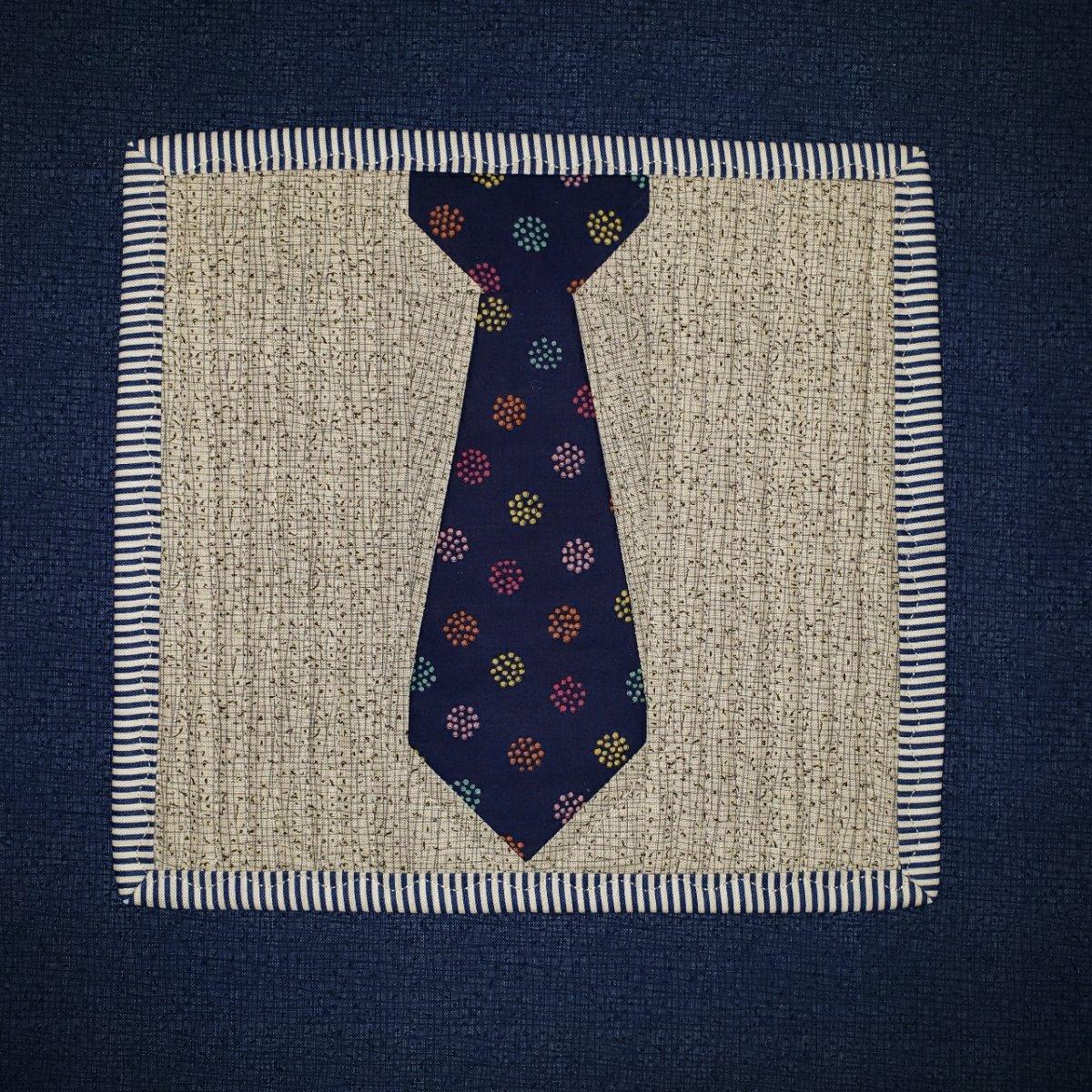 Necktie Mug Rug June 2021