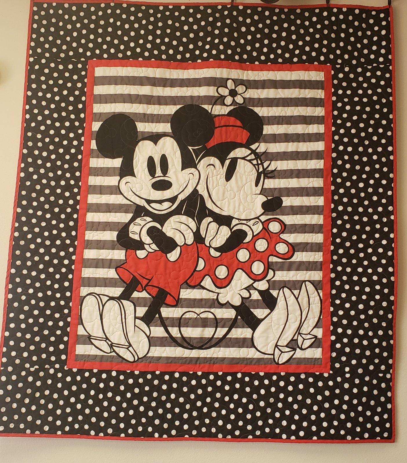 Retro Micky & Minnie Panel Kit