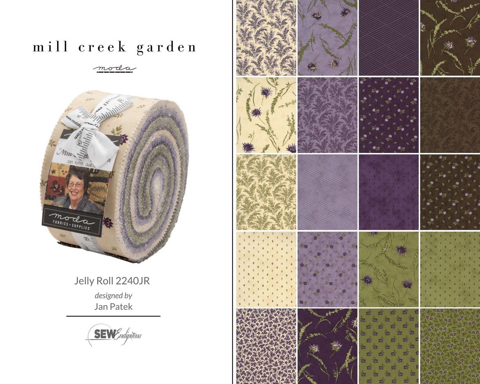 2021 Mill Creek Garden Jelly Roll 2.5 Strips