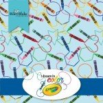 I Dream In Color Crayola 2-1/2in Strips, 40pcs