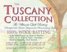 Tuscany Batting Wool Twin