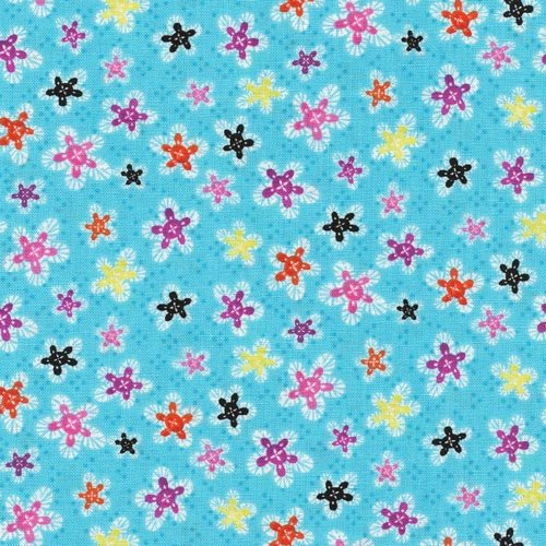 It's A Party, Zebra Flowers by Fabri-Quilt : 112-21241