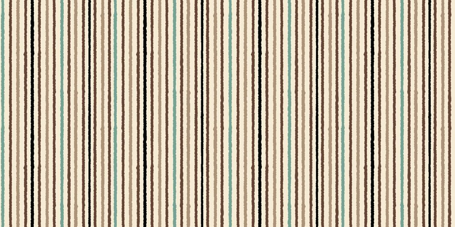 Wisdom of the Plains, Multi Stripes - Cream by Tara Reed for Quilting Treasures : 1649-24284-E