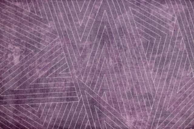 Feng Shui, Lavender Angles on Marbled Purple by Janine Burke for Riverwoods Collection : 1841-1