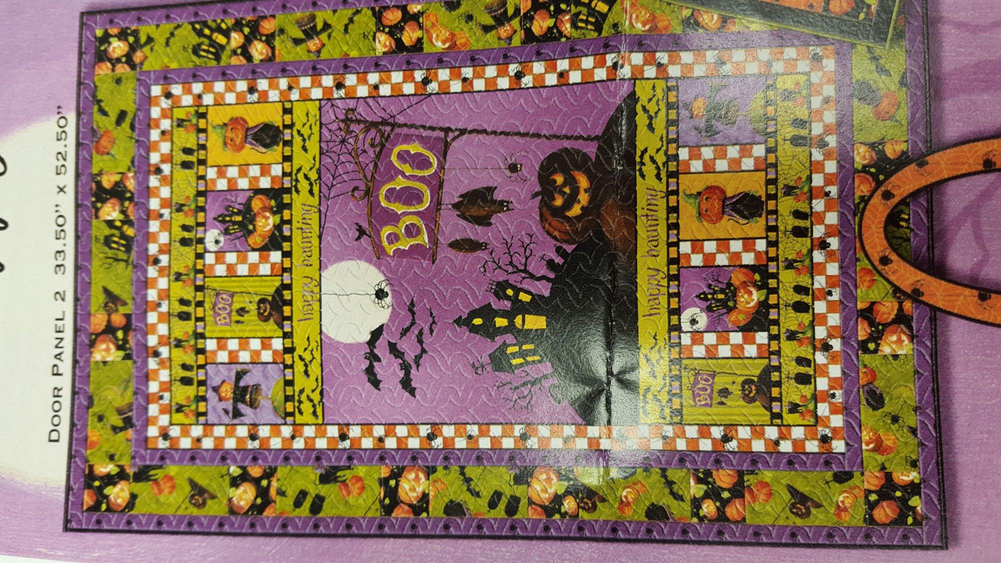 Happy Haunting by Lisa Audit Door Panel Kit, Q1409