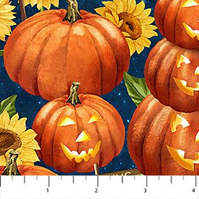 Pumpkins for Sale by Tom Wood for Northcott : 21670-54
