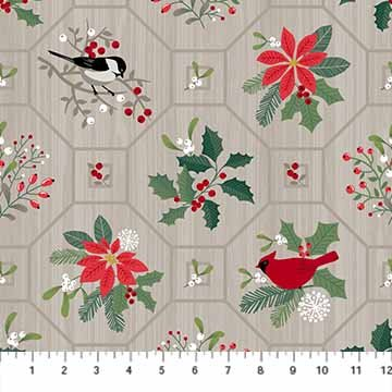 Swedish Christmas by Deborah Edwards for Northcott : 22291-92