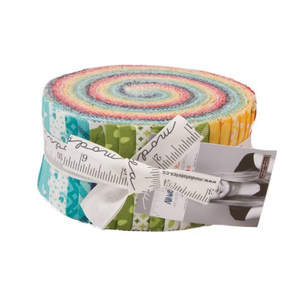 All Weather Friend, Jelly Roll by April Rosenthal for Moda : 24060JR