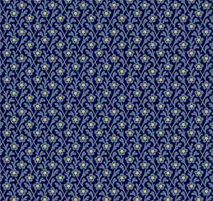 Star of Bethlehem by Rocky Mountain Quilt Museum of Washington Street Studio for P&B Textiles : 26500-blu1