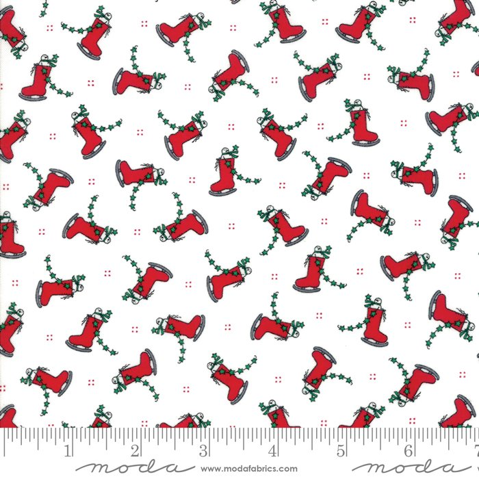 Merry Merry Snow Days fabric by Bunny Hill Designs and Moda Fabrics 2943 14