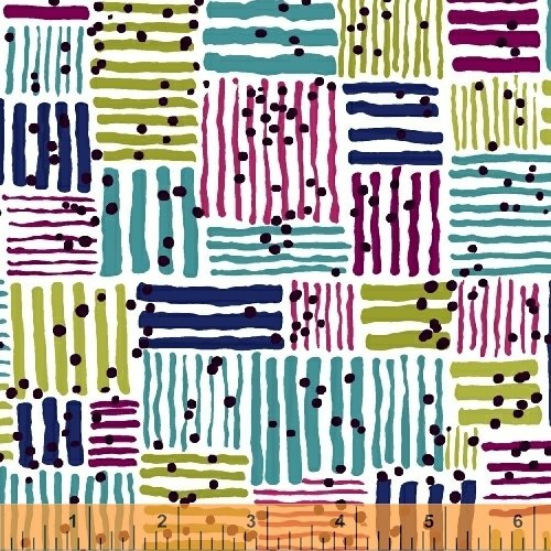 Makers Home by Natalie Barnes for Windham Fabrics : 43148-2