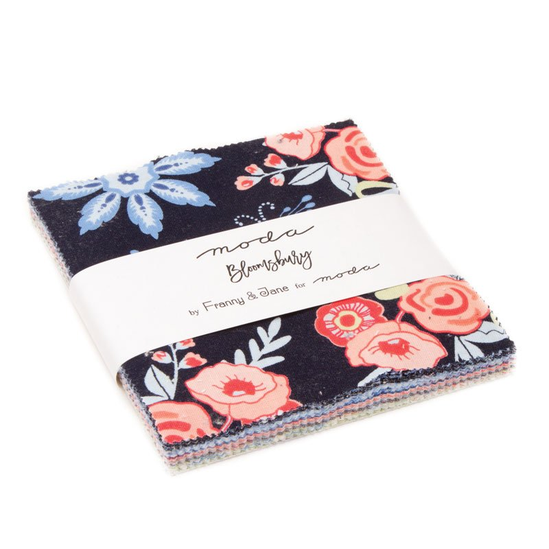 Bloomsbury Charm Pack by Franny & Jane for Moda : 47510PP