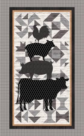 Buttermilk Farmstead, 30in Fabric Panel by Grace Popp for Studio E : 5331P-99