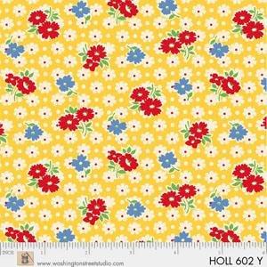 Holly's Dollies by Sara Morgan of Washington Street Studio for P&B Textiles : 602-Y