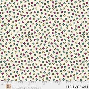 Holly's Dollies by Sara Morgan of Washington Street Studio for P&B Textiles : 603-MU