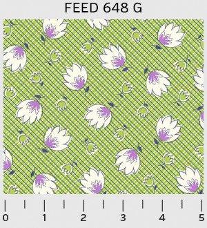 Feedsack by Sara Morgan of Washington Street Studio for P&B Textiles : 648-G