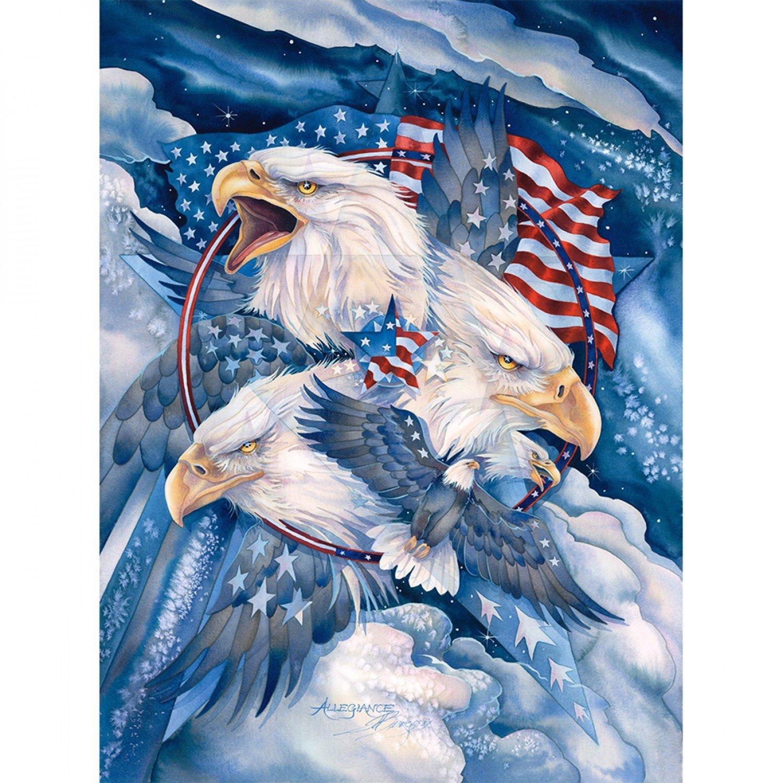 Eagle Cotton Panel 36in by Sykel Enterprises 8703-X