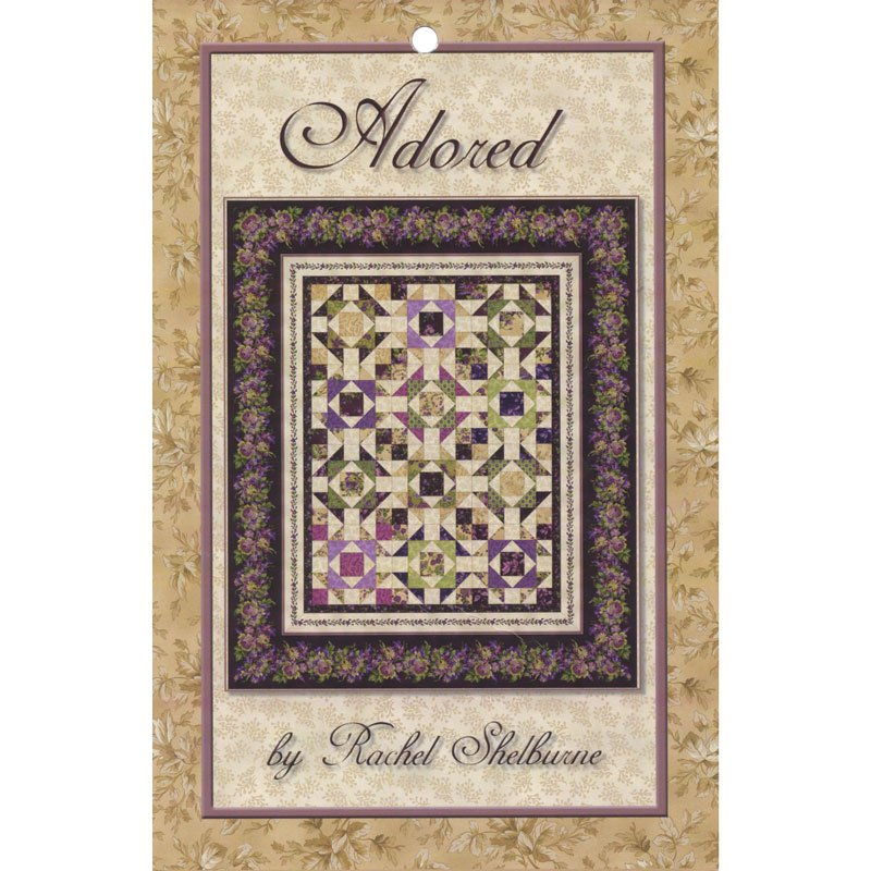 Adored, Fabric Kit, Designed by Rachel Shelburne : KIT-MASADO